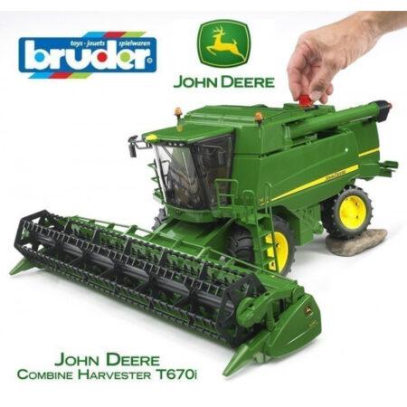 Kombajn John Deere T670i - BRUDER
