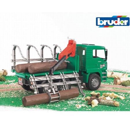 Kamion za prevoz drva