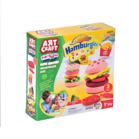 Plastelin za igru Hamburger
