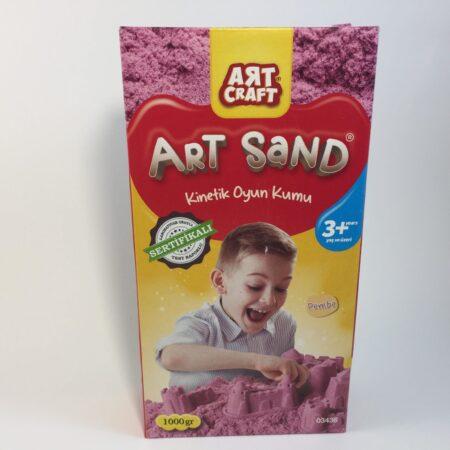 Kinetički pesak roze
