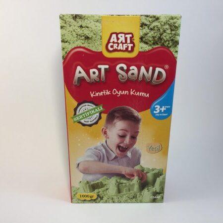 Kinetički pesak zeleni u kutiji