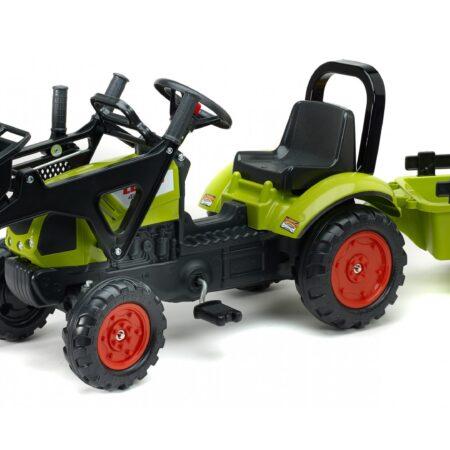 Traktor Claas sa prikolicom i kašikom
