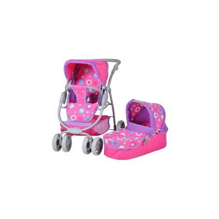 Kolica za lutke Coco Pink