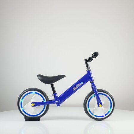 balance bike light plava bicikla