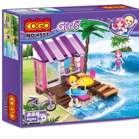 Kocke Devojke na plaži