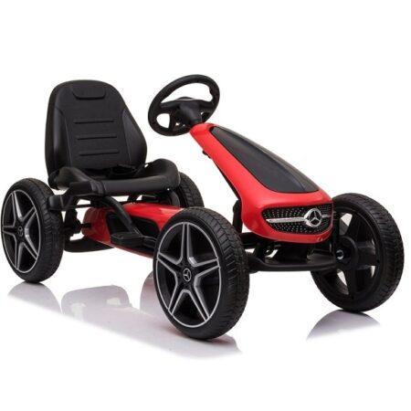 Mercedes Karting na pedale