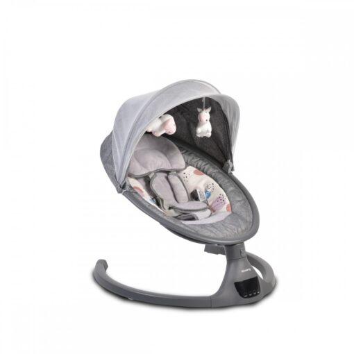 Ljuljaška za bebe iSwing Dark Grey