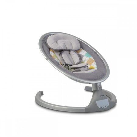 Ljuljaška za bebe iSwing Light grey
