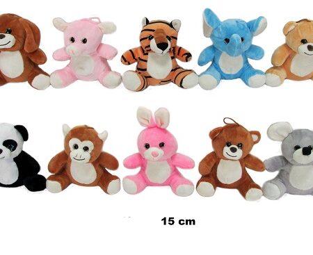 Male plišane životinje 15 cm